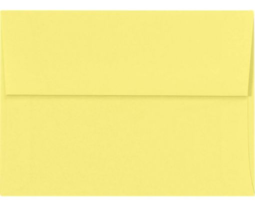 A6 Invitation Envelopes (4 3/4 x 6 1/2) Pastel Canary