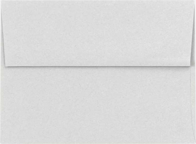 pastel gray a6 envelopes square flap 4 3 4 x 6 1 2