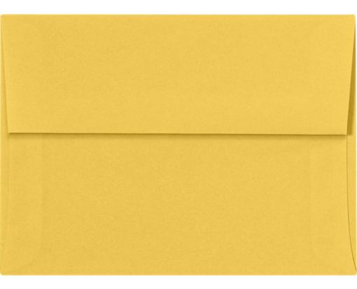 A6 Invitation Envelopes (4 3/4 x 6 1/2) Goldenrod
