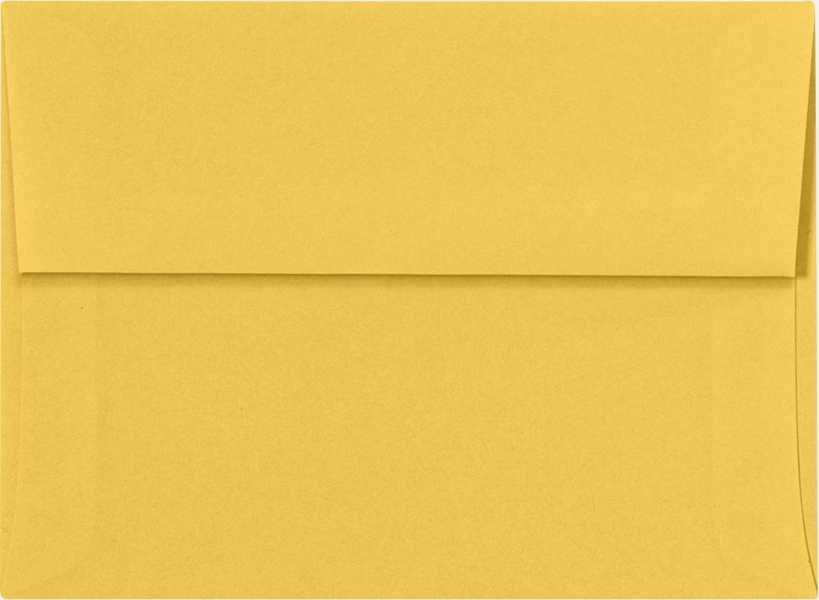 goldenrod a6 envelopes square flap 4 3 4 x 6 1 2 envelopes com