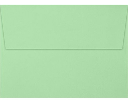 A7 Invitation Envelopes (5 1/4 x 7 1/4) Pastel Green