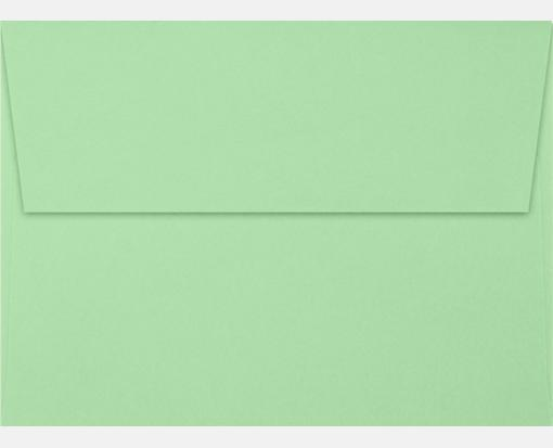 pastel green a7 envelopes square flap 5 1 4 x 7 1 4
