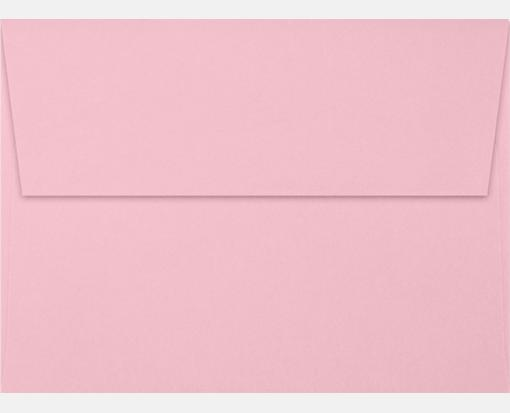 pastel pink a7 envelopes square flap 5 1 4 x 7 1 4 envelopes com
