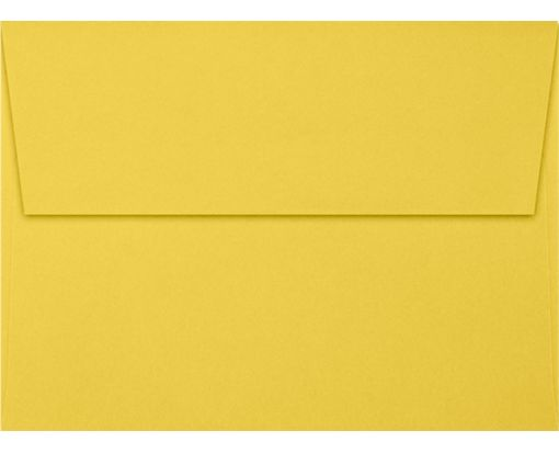 A7 Invitation Envelopes (5 1/4 x 7 1/4) Goldenrod