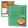 9 3/4 x 11 5/8 Poly Button & String Booklet Envelopes Green