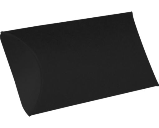 Small Pillow Boxes (2 x 3/4 x 3) Midnight Black
