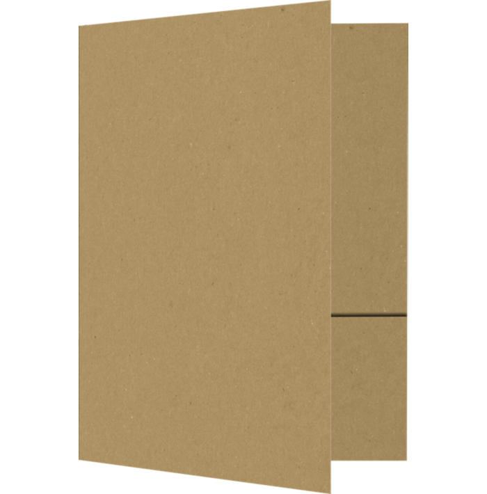 6 x 9 Small Presentation Folders Grocery Bag