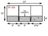 Tri-Panel Folder - Three Pocket