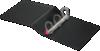"4"" Easy Open Locking Slant-D Ring Binder Black"