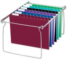 Hanging File - Frames, Kit:12 Hanging File Folders, Tabs, Inserts