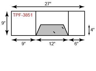 1 Pocket Landscape tripanel