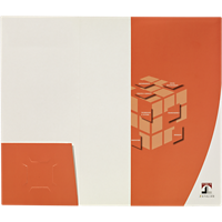 9x12 One Small Horizontal Pocket and One Vertical Pocket Folder