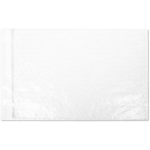 """8"""" x 11 1/2"""" Self-Seal Bubble Pouch Clear"""