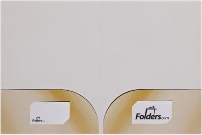 9 x 12 Presentation Folders - Curved Pockets
