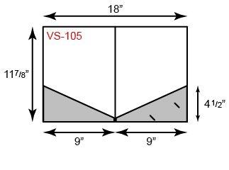 9 x 12 Presentation Folders - Angled Pockets
