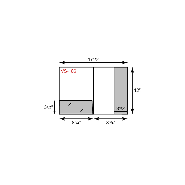 8 3/4 x 12 Presentation Folders - 1 Pocket Vertical 1 pocket horizontal