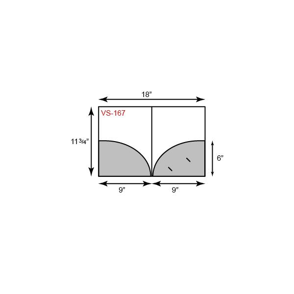 9 x 11 3/4 Presentation Folders - Rounded Pockets