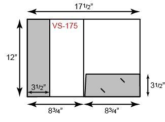 1 Pocket Vertical 1 Pocket Horizontal