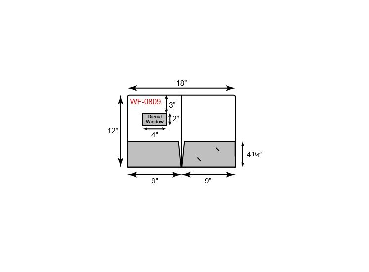 Standard 2 Pocket w/ Window
