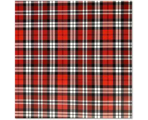 Jumbo Roll (10 x 30) Wrapping Paper Authentic Plaid