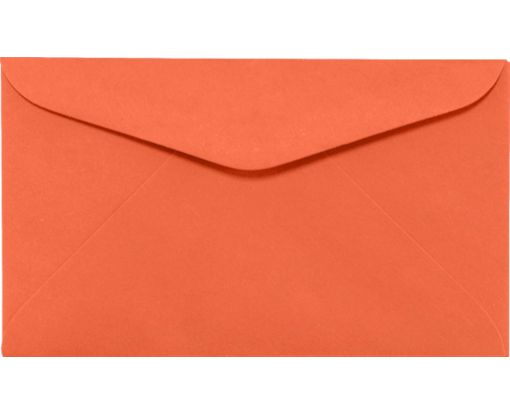 #6 1/4 Regular Envelopes (3 1/2 x 6) Bright Orange