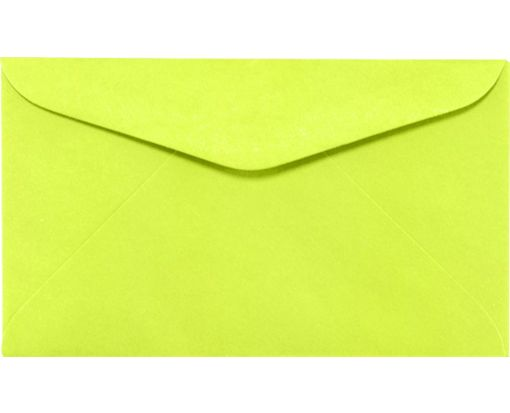 #6 1/4 Regular Envelopes (3 1/2 x 6) Electric Green
