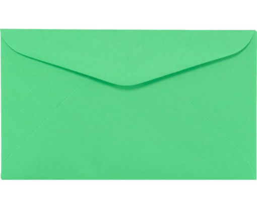 #6 1/4 Regular Envelopes (3 1/2 x 6) Bright Green