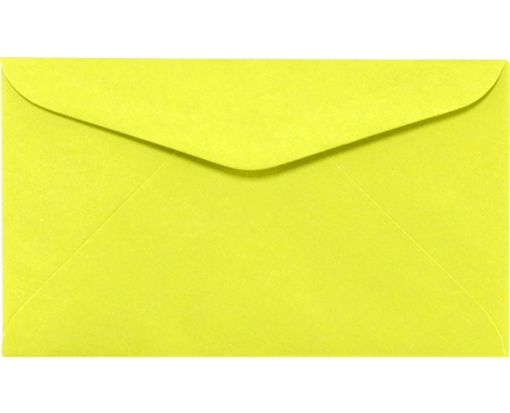 #6 1/4 Regular Envelopes (3 1/2 x 6) Electric Yellow