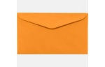 #6 1/4 - (3 1/2 x 6) Electric Orange