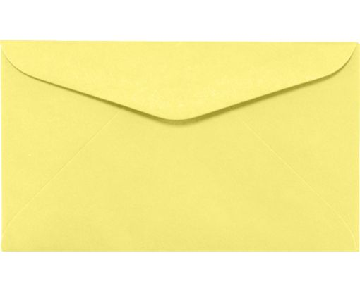 #6 1/4 Regular Envelopes (3 1/2 x 6) Pastel Canary