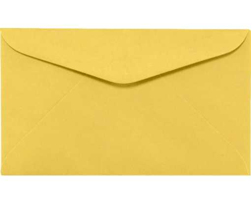 #6 1/4 Regular Envelopes (3 1/2 x 6) Goldenrod
