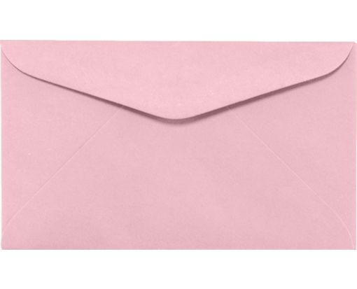 #6 1/4 Regular Envelopes (3 1/2 x 6) Pastel Pink
