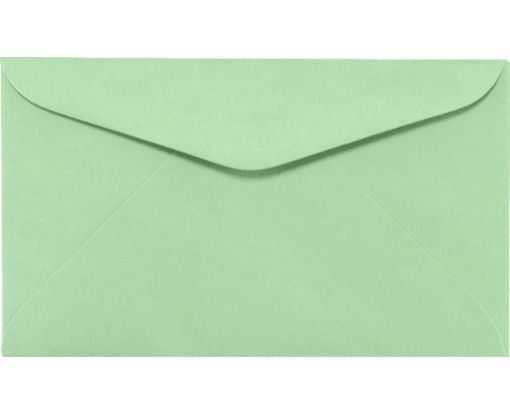 #6 1/4 Regular Envelopes (3 1/2 x 6) Pastel Green