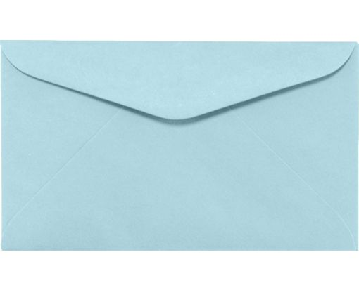 #6 1/4 Regular Envelopes (3 1/2 x 6) Pastel Blue
