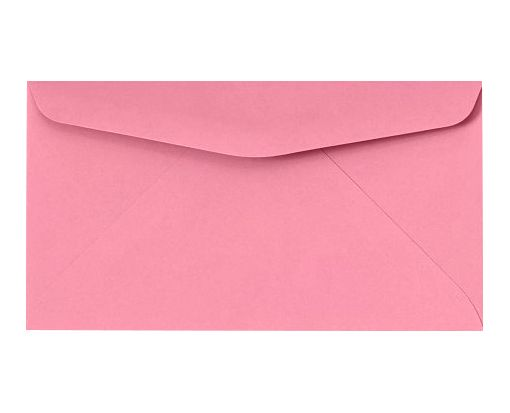 #6 3/4 Regular Envelopes (3 5/8 x 6 1/2) Electric Pink