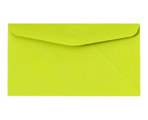 #6 3/4 Regular Envelopes (3 5/8 x 6 1/2) Electric Green