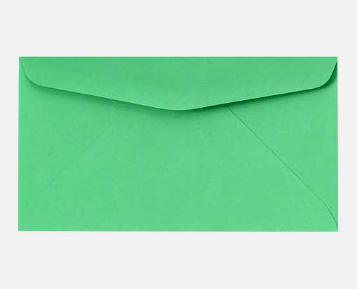 #6 3/4 Regular Envelopes (3 5/8 x 6 1/2) Bright Green