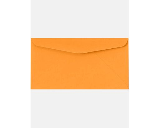 #6 3/4 Regular Envelopes (3 5/8 x 6 1/2) Electric Orange