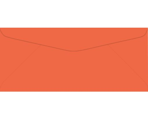 #9 Regular Envelopes (3 7/8 x 8 7/8) Bright Orange