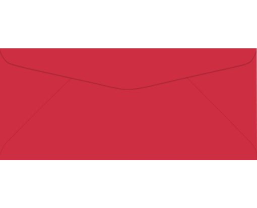 #9 Regular Envelopes (3 7/8 x 8 7/8) Holiday Red