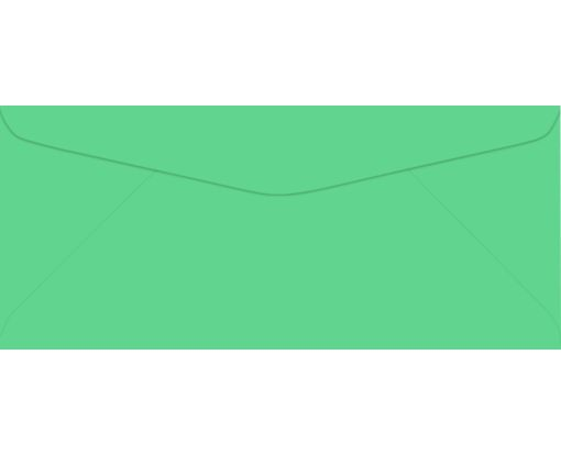 #9 Regular Envelopes (3 7/8 x 8 7/8) Bright Green