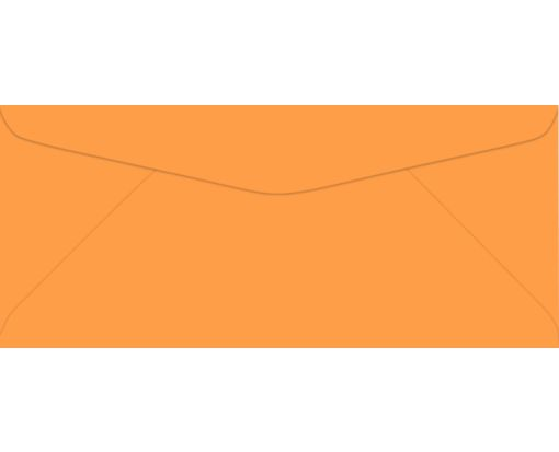 #9 Regular Envelopes (3 7/8 x 8 7/8) Electric Orange