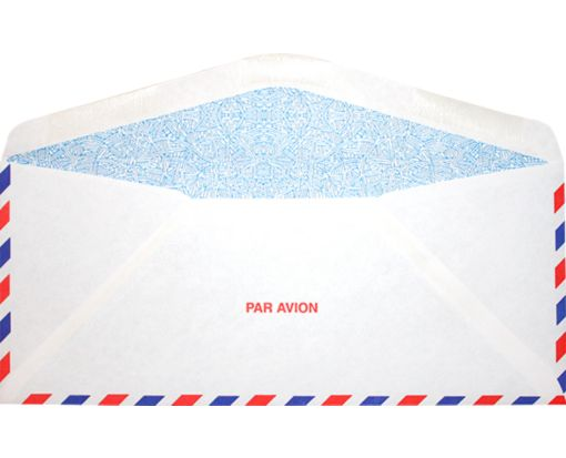 #10 Regular (4 1/8 x 9 1/2) Airmail w/ Security Tint