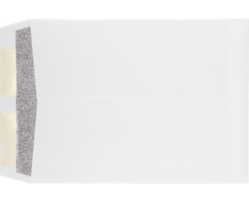 9 x 12 Open End Envelopes 28lb. White w/ Security Tint