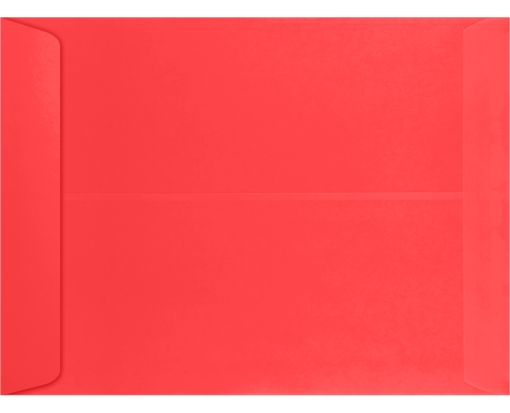 9 x 12 Open End Envelopes Electric Coral