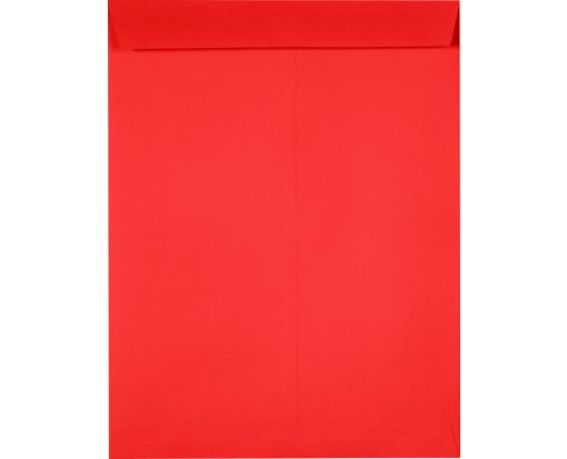 10 x 13 Open End Envelopes Electric Cherry
