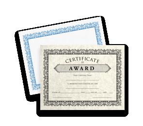 Certificates   Folders.com