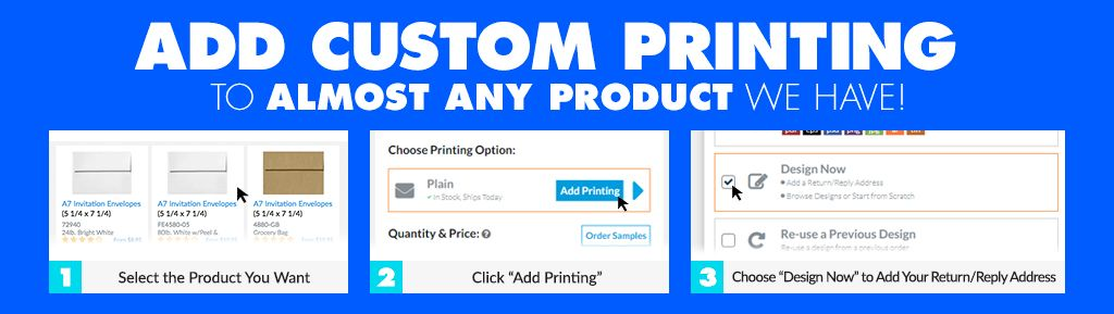 custom envelope printing design options personalized envelopes