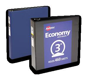 Economy View Poly Binders | Envelopes.com
