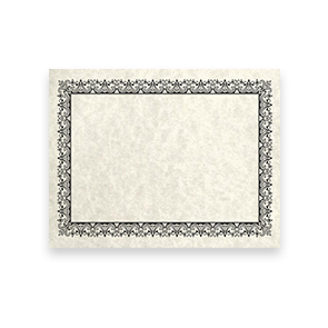 8 1/2 x 11 Certificates Blank
